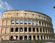 Colosseum, the most visited landmark in Rome